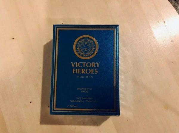 Versace eros impression VICTORY HEROES, Eau de Toilette for Men,3.4 Fluid Oz