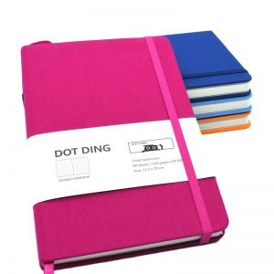 A5 Dotted Faux Leather 160 Page Journal