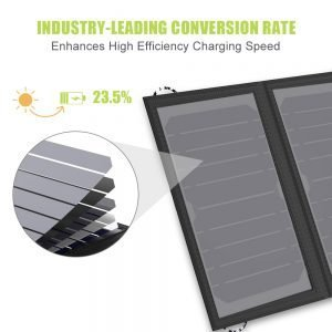 Ultra Light Portable Solar Panel Charger for Cell Phones Tables Travel