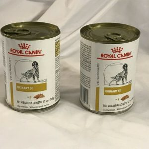 2 cans Royal Canin Veterinary Diet Urinary SO For Dogs Wet 13.5 oz