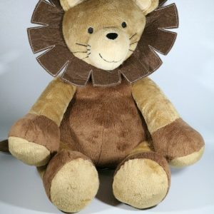 12″ Lambs & Ivy Lion Brown Jungle Safari Plush Stuffed Toy Animal