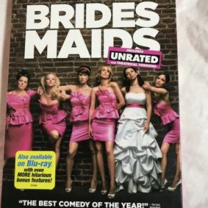 Bridesmaids (DVD, 2011, Unrated/Rated) Kristin Wiig