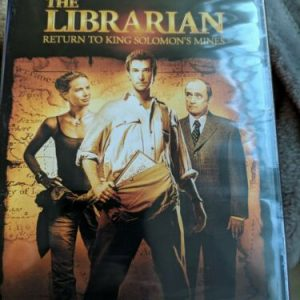 The Librarian: Return to King Solomons Mines (DVD, 2006, Widescreen Edition)