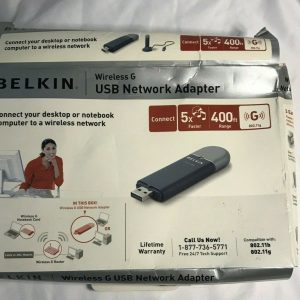 Belkin Wireless G Network Adapter USB – Used Excellent Condition
