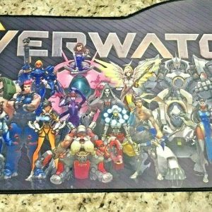 Overwatch Gaming Extra Large Mouse Pad with Storage Bag (29 inches)
