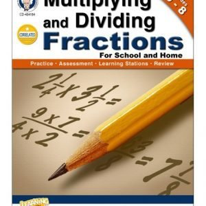 Multiplication and Dividing Fractions, Grade 5-8