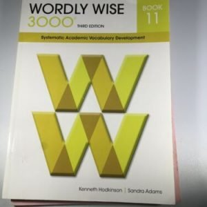 Wordly Wise 3000 Student Book 11, 3rd Edition Book and Test Booklet