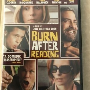 Burn After Reading (DVD, 2008) George Clooney Frances McDormand