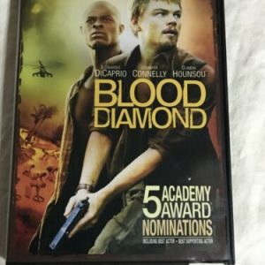 Blood Diamond (DVD, 2007, Widescreen) Leonardo DiCaprio Jennifer Connelly