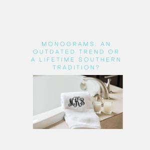 Monograms Towels