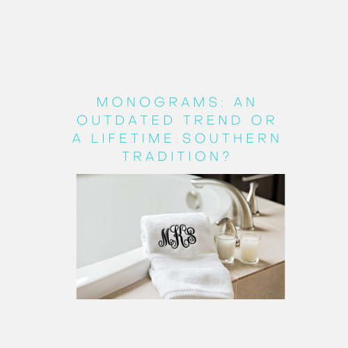 Monograms Towels