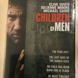 Children of Men (DVD, 2007, Anamorphic Widescreen) NEW Clive Owen Julianne Moore
