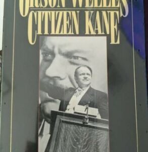 CITIZEN KANE WITH ORSON WELLES (VHS) – NEW