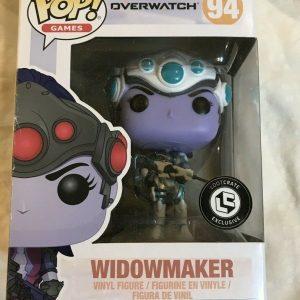 Funko Pop Games Overwatch 94 Widowmaker Loot Crate Exclusive 2017