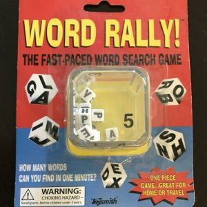 Word Rally | The Fast-Paced Word Search Game Ages 5 & up