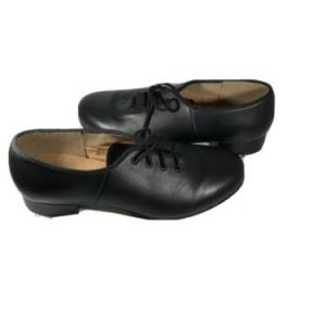 Bloch Women's Leather Sz 7 Tap Shoes Black