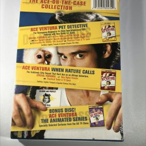Ace Ventura Deluxe Double Feature (DVD, 2006, 3-Disc Set)