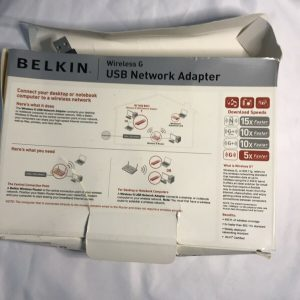 Belkin Wireless G Network Adapter USB