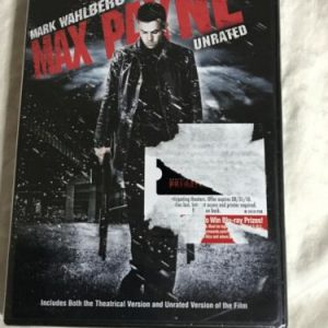 Max Payne (DVD, 2009, Checkpoint Sensormatic Widescreen Unrated) Mark Wahlberg