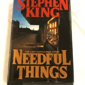 Needful Things by Stephen King 1991 Hardcover 1st edition Excellent Condition