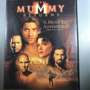 The Mummy Returns (DVD, 2001, Widescreen Edition)