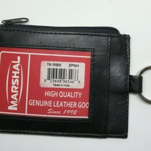 Marshal Genuine Leather Wallet, ID, Credit Cards With Lanyard