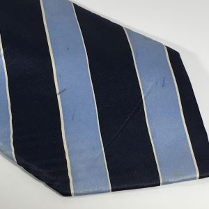Fashion Men's Tie Unbranded Dark Blue and Light Blue Stripes