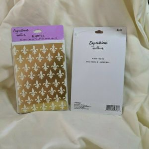 Expressions Hallmark Invitations | Cards | Gold | 6 Notes | 2 packs