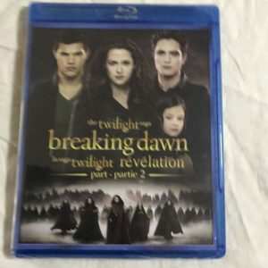 Twilight Breaking Dawn Part 2 Blue-Ray New Factory Sealed