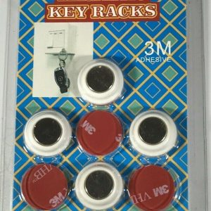 Drill Free Magnetic Key Racks – Includes 6