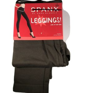Spanx Large Espresso Brown Seamless Shaping Leggings Look at me Now