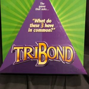 TRIBOND Board Game What do these 3 have in common 2-4 player