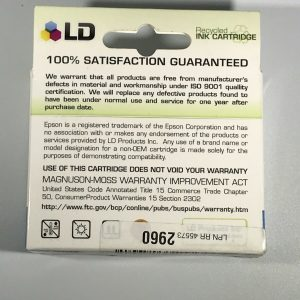 LD Recycled Ink Cartridge LD-T125220 Cyan Compatible with Epson
