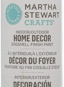 Martha Stewart Crafts Home Decor Eggshell Paint: Sand Dollar (2 Ounce)