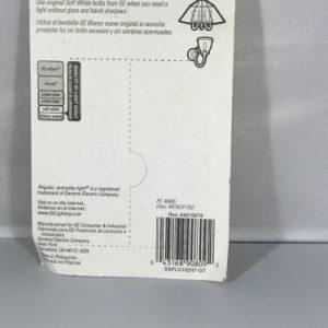 GE Soft White 40 Watt Decorative Bent Tip 2 pack Light Bulb
