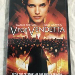 V For Vendetta (DVD, 2006) Widescreen edition Natalie Portman Hugo Weaving