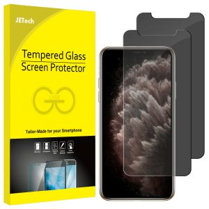 JETech Screen Protector for iPhone 11 Pro and iPhone XS Tempered Glass 2-Pack