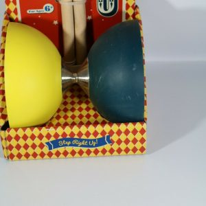 Lucky Lad Diabolo Yellow and Black for Ages 6+ Circus Juggling Prop