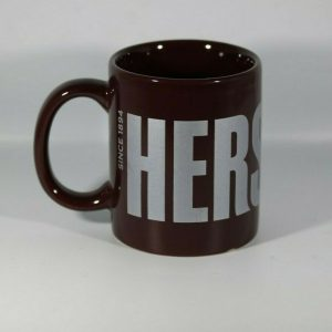 "Hershey's Brown Coffee Mug 8 ounces ""Since 1894"" Edition by Galerie Vintage"