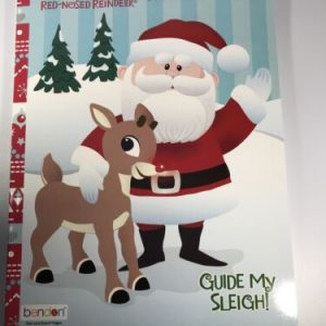 Rudolph Christmas Coloring and Activity Book The Red-Nosed Reindeer 64 pages