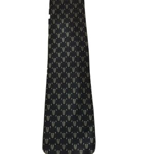 Salvatore Pellegrino Men's Tie Gray Silver