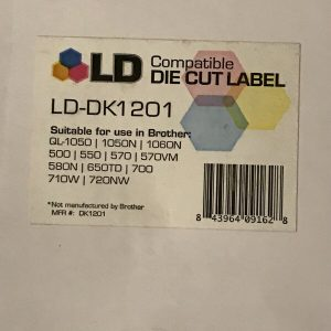 LD Compatible Address Label Replacement for Brother DK-1201 1.1 in x 3.5 in