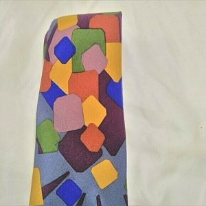 Field Brothers Geometric Men's 100% Silk Tie