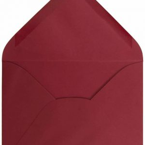 JAM Paper A7 Premium Invitation 25 Pack Envelopes 5 1/4 x 7 1/4 – Dark Red