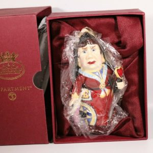 Dept 56 Candle Crown Alice in Wonderland Queen of Hearts Snuffer New with Box