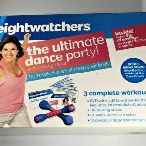 Weight Watchers The Ultimate Dance Party DVD and Firming Stick Only