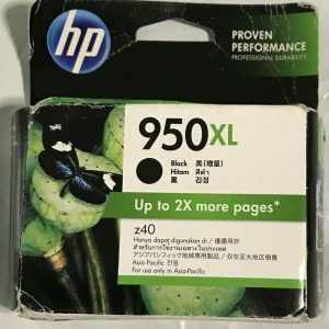 HP 950XL Black Ink Genuine OfficeJet Pro Up to 2x more pages