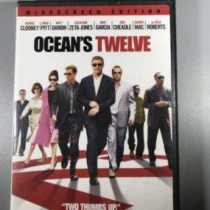 Oceans Twelve (2004) (DVD, 2005) Widescreen, free shipping