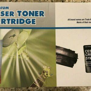 Premium Laser Toner Cartridge Compatible for CE505x CF 280X