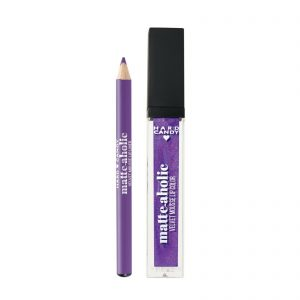 Hard Candy Matte-Aholic Velvet Mousse Lipcolor & Lip Liner Kit , Sugar Plum